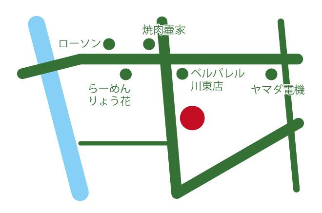 神野農園アクセスマップ